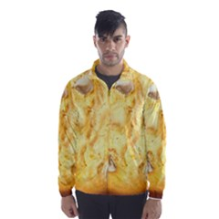 White Chocolate Chip Lemon Cookie Novelty Wind Breaker (men)