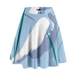 Egret High Waist Skirt