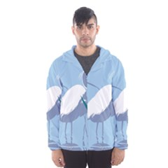 Egret Hooded Wind Breaker (men)