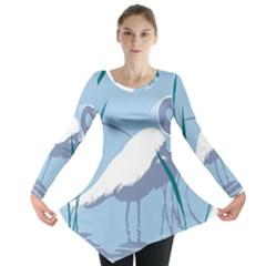 egret Long Sleeve Tunic