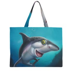 Sharky  Large Tote Bag