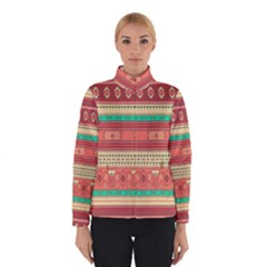 Hand Drawn Ethnic Shapes Pattern Winterwear