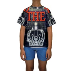The King Kid s Short Sleeve Swimwear