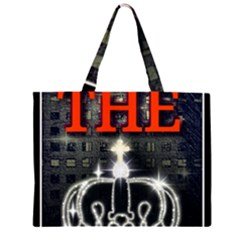 The King Zipper Large Tote Bag