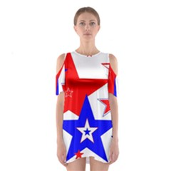 The Patriot 2 Cutout Shoulder Dress