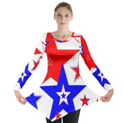 The Patriot 2 Long Sleeve Tunic