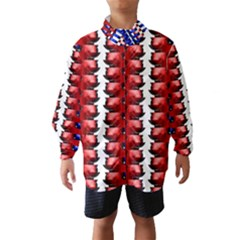 The Patriotic Flag Wind Breaker (kids)