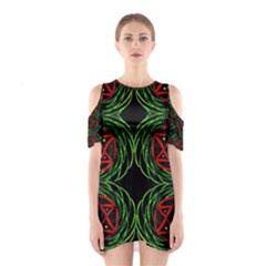 Venus Bus Cutout Shoulder Dress