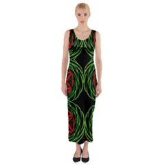 Venus Bus Fitted Maxi Dress