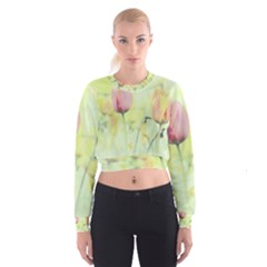 Softness Of Spring Women s Cropped Sweatshirt
