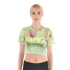 Softness Of Spring Cotton Crop Top