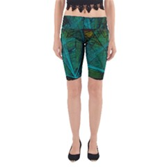 Weathered Yoga Cropped Leggings