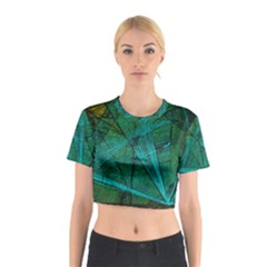 Weathered Cotton Crop Top