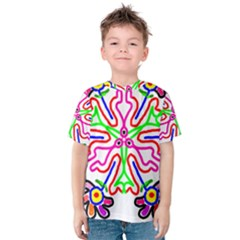 The Flower Pods Kid s Cotton Tee
