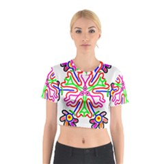 The Flower Pods Cotton Crop Top