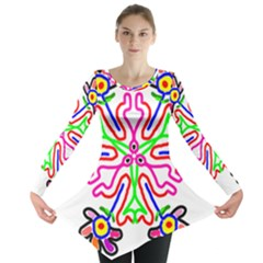 The Flower Pods Long Sleeve Tunic