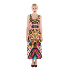 Ethnic You Collecition Full Print Maxi Dress
