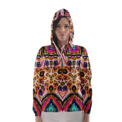 Ethnic You Collecition Hooded Wind Breaker (women)