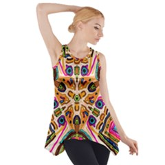 Ethnic You Collecition Side Drop Tank Tunic