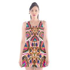 Ethnic You Collecition Scoop Neck Skater Dress