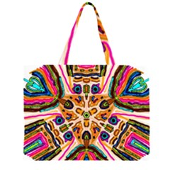 Ethnic You Collecition Large Tote Bag