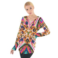Ethnic You Collecition Women s Tie Up Tee