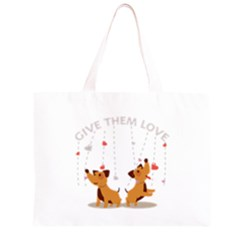 Give Them Love Large Tote Bag