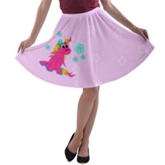 Life Is Not A Pony Ranch A Line Skater Skirt