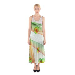 The Wedding Veil Series Full Print Maxi Dress