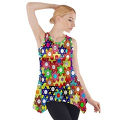 Star Of David Side Drop Tank Tunic