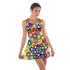 Star Of David Racerback Dresses