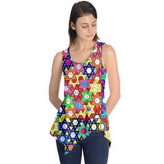 Star Of David Sleeveless Tunic
