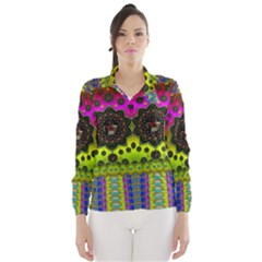 Stars A Dove A  Woodo Stratocaster In Peace And Leather Wind Breaker (Women)