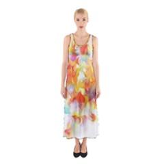 Hawaiian Flair Full Print Maxi Dress