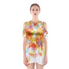 Hawaiian Flair Women s Cutout Shoulder Dress