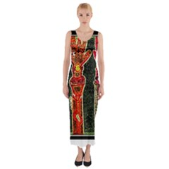 Hands Down! Fitted Maxi Dress