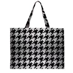 HTH1 BK MARBLE SILVER Large Tote Bag