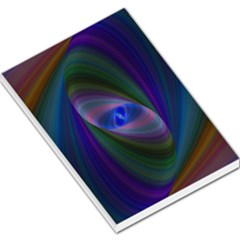 Eye Of The Galactic Storm Large Memo Pads