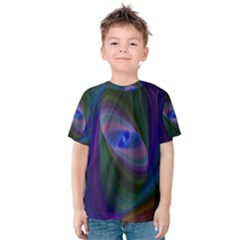 Eye Of The Galactic Storm Kid s Cotton Tee