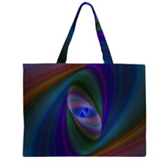 Eye Of The Galactic Storm Large Tote Bag