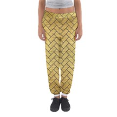 BRK2 BK MARBLE GOLD (R) Women s Jogger Sweatpants