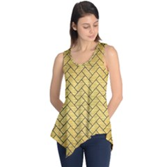 BRK2 BK MARBLE GOLD (R) Sleeveless Tunic