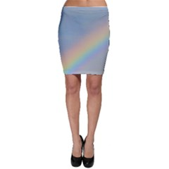 Colorful Natural Rainbow Bodycon Skirts