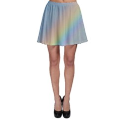Colorful Natural Rainbow Skater Skirt