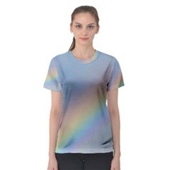 Colorful Natural Rainbow Women s Sport Mesh Tee