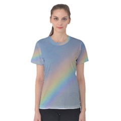 Colorful Natural Rainbow Women s Cotton Tee