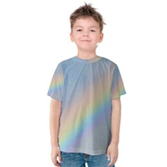 Colorful Natural Rainbow Kid s Cotton Tee