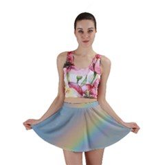 Colorful Natural Rainbow Mini Skirt