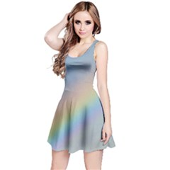 Colorful Natural Rainbow Reversible Sleeveless Dress