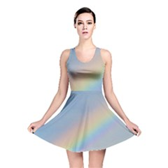 Colorful Natural Rainbow Reversible Skater Dress